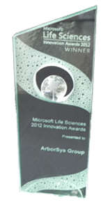 Learn more about the Microsoft Life Sciences Innovation Award that we won
